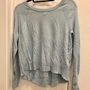 Pale Blue Cashmere Blend Sweater